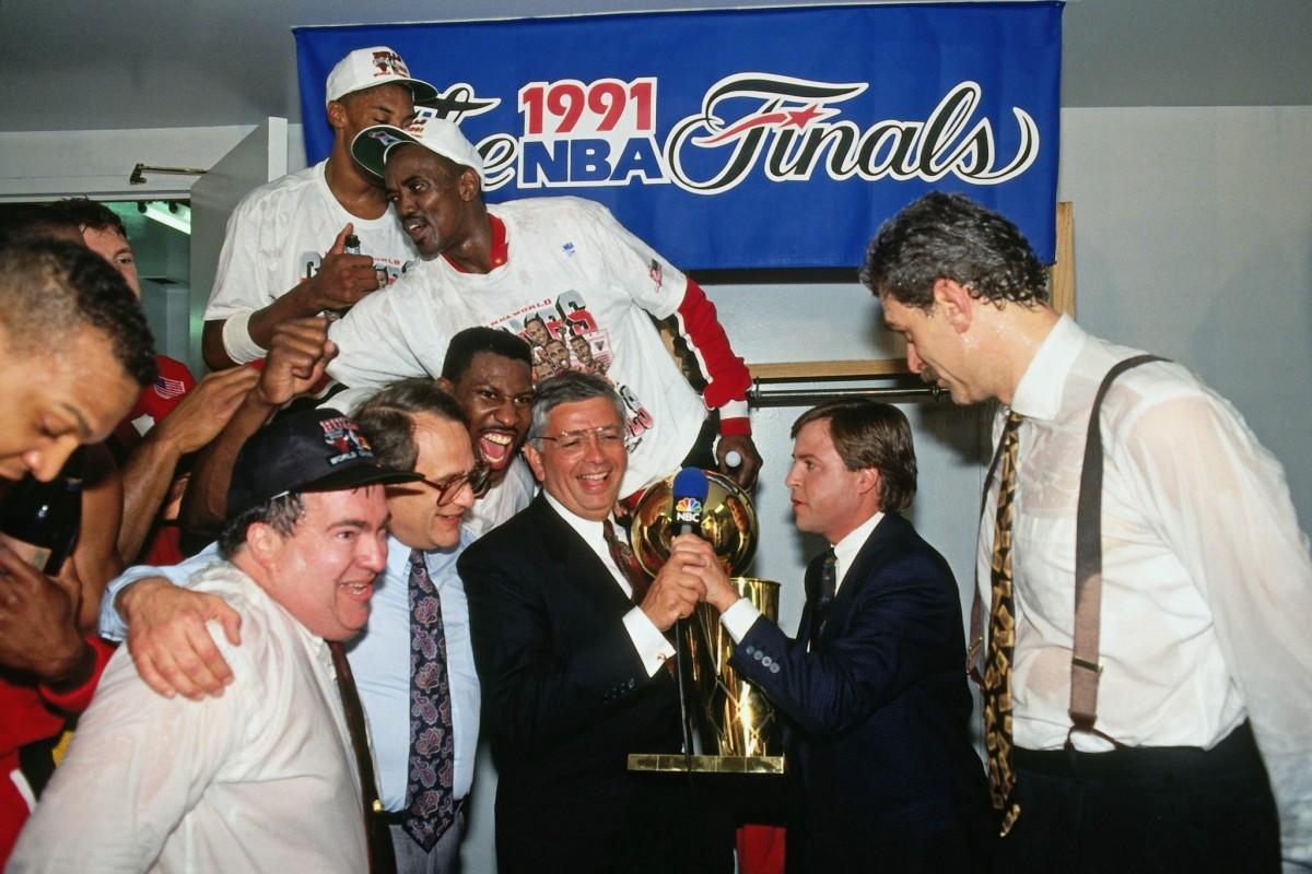 1990-91 – Chicago Bulls History