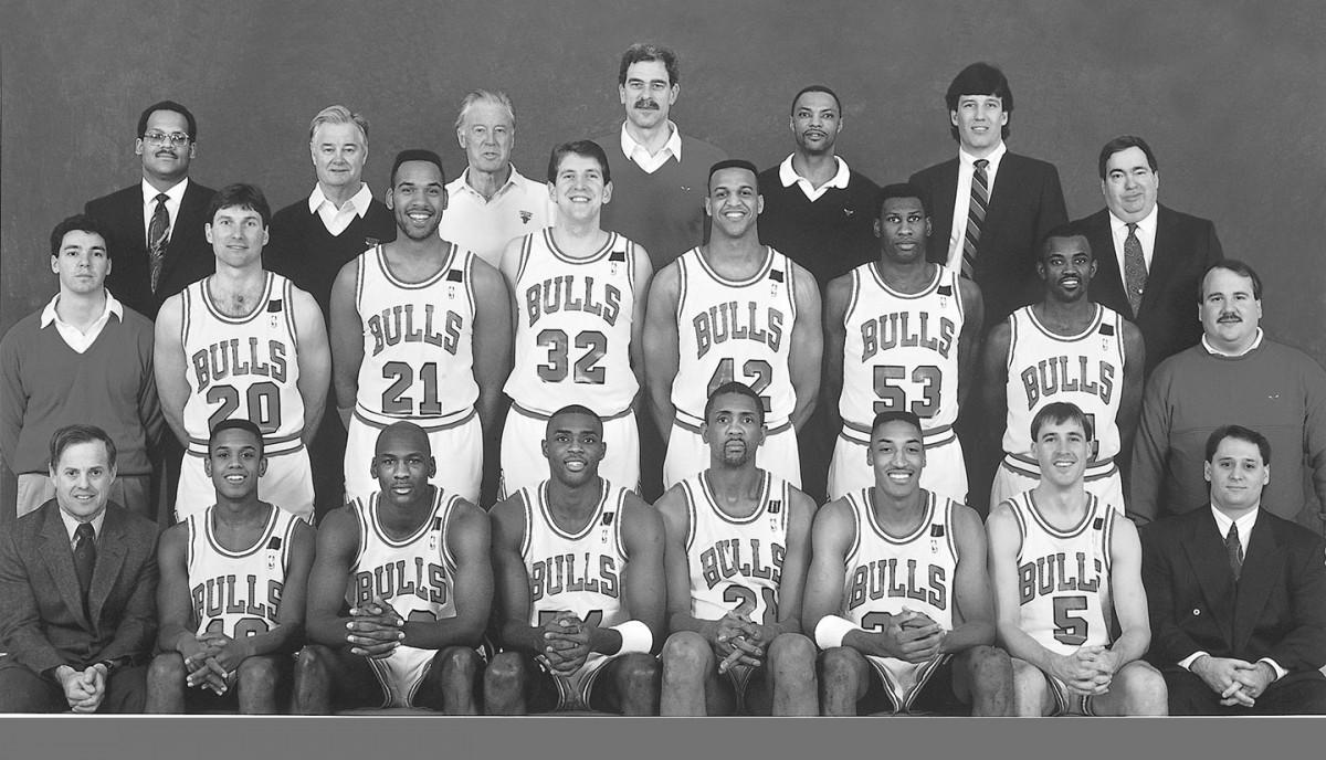 1991-92 – Chicago Bulls History