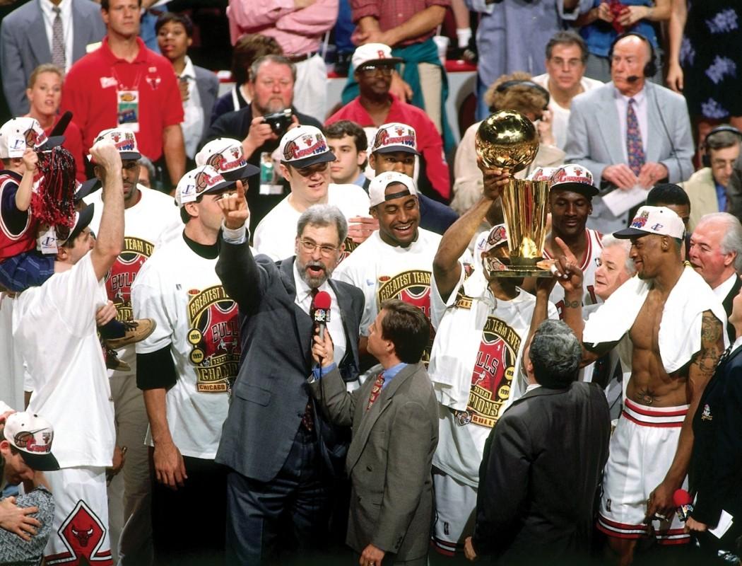 1995 96 Chicago Bulls History