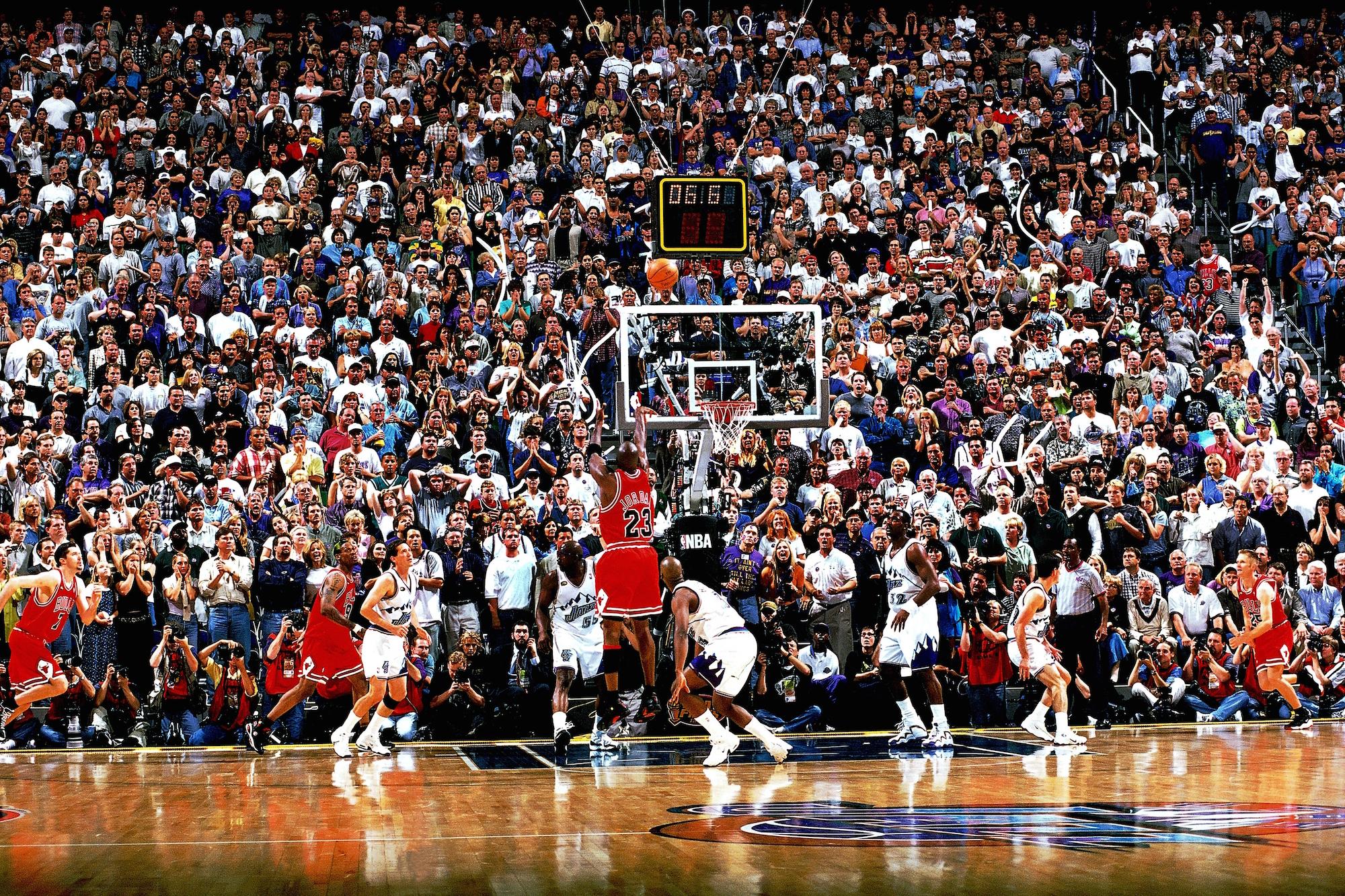 1998 NBA Finals - Michael Jordan last-shot
