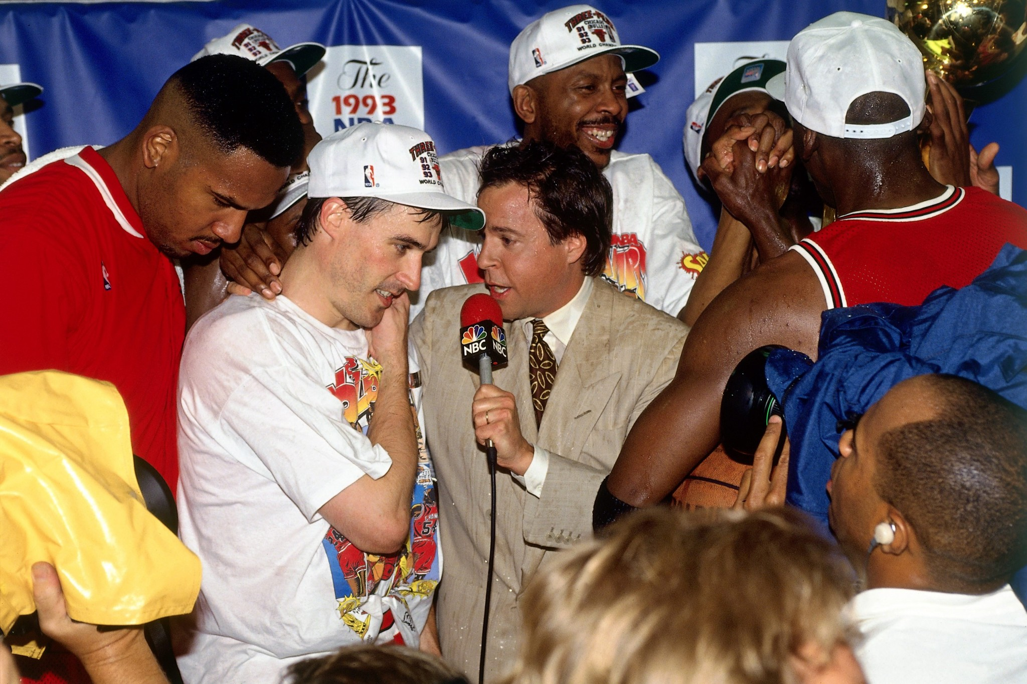 John Paxson interviewed by Bob Costas following the 1993 NBA Finals