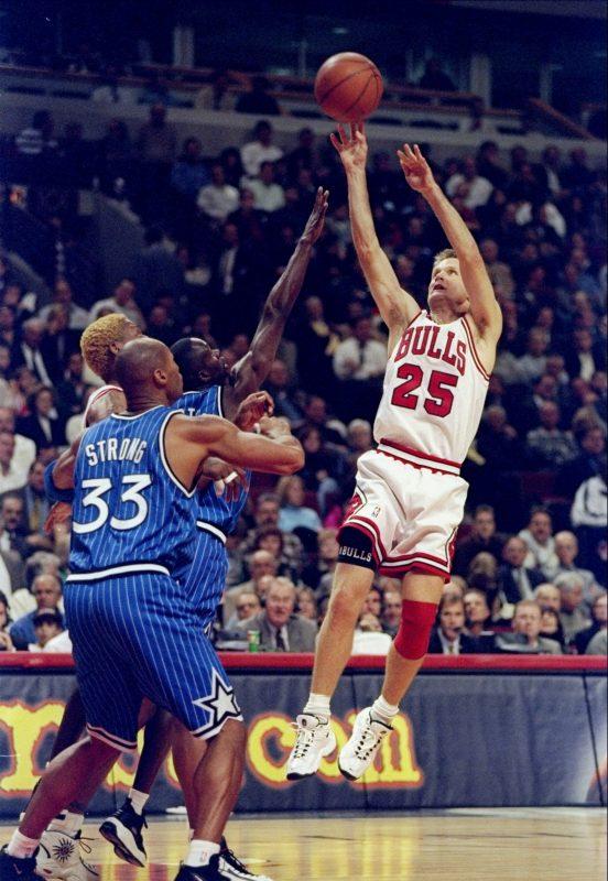 90c237c60 Steve Kerr – Chicago Bulls History