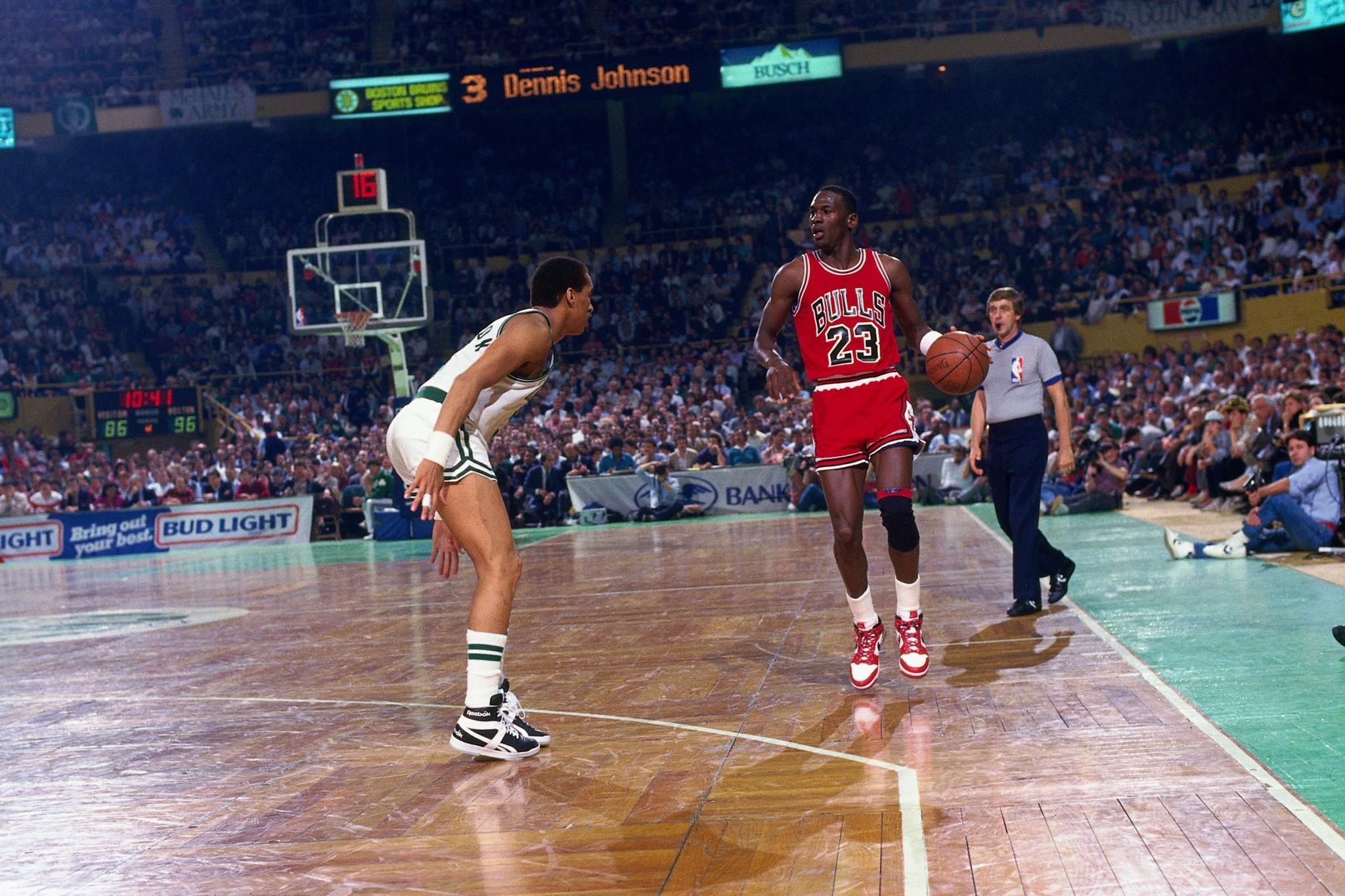 Jordan vs. Celtics
