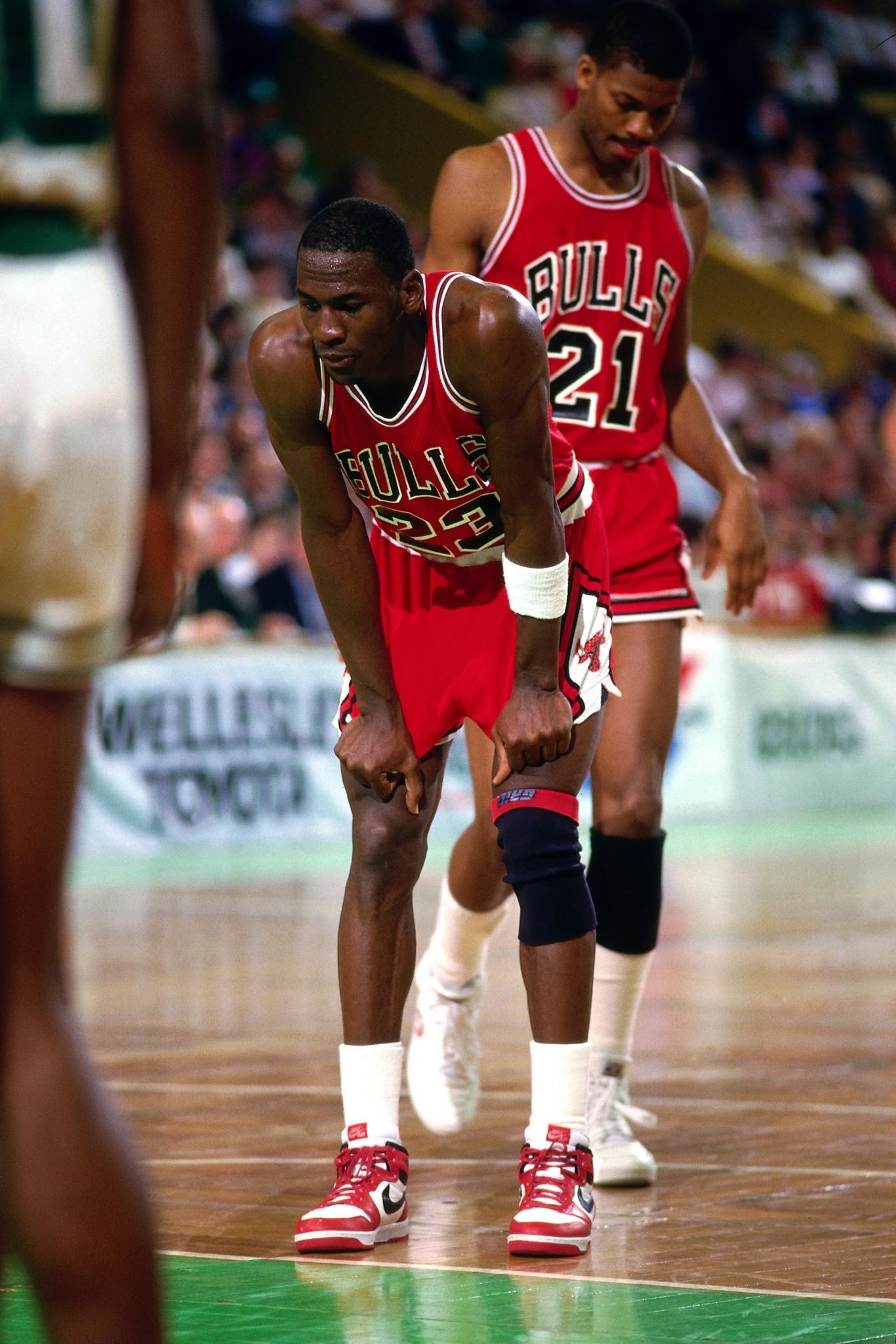 Jordan vs. Boston Celtics