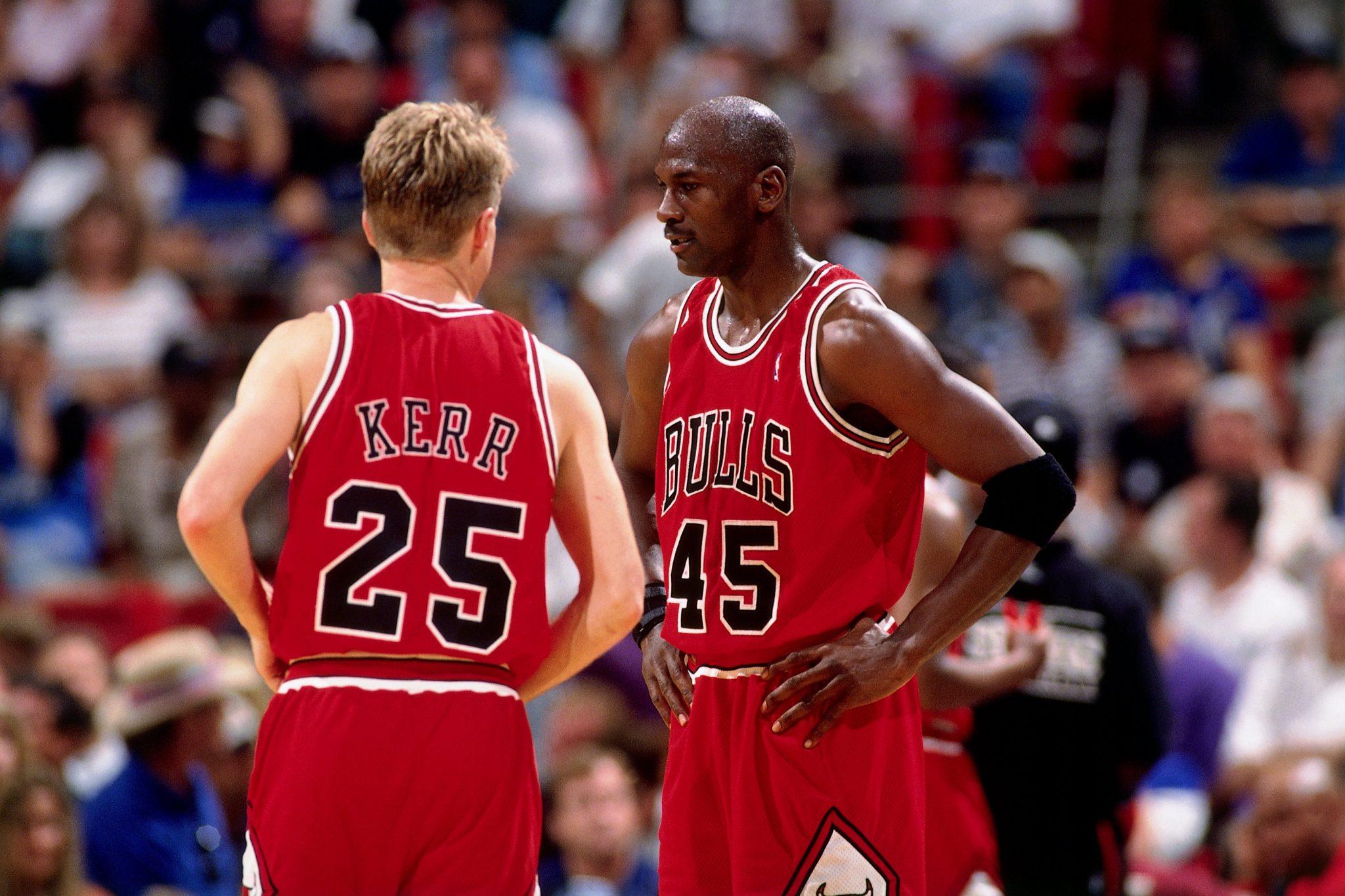 fa9cf5462 Steve Kerr s Unlikely Journey – Chicago Bulls History