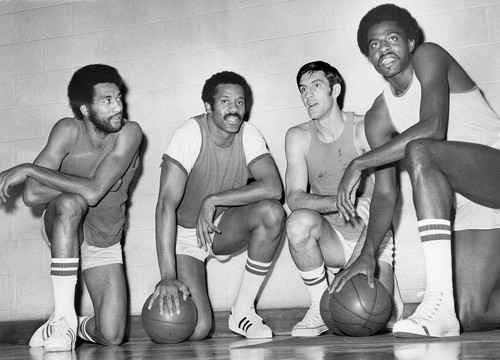 The 1972-73 Chicago Bulls with Norm Van Lier, Chet Walker and Jerry Sloan and Bob Love.