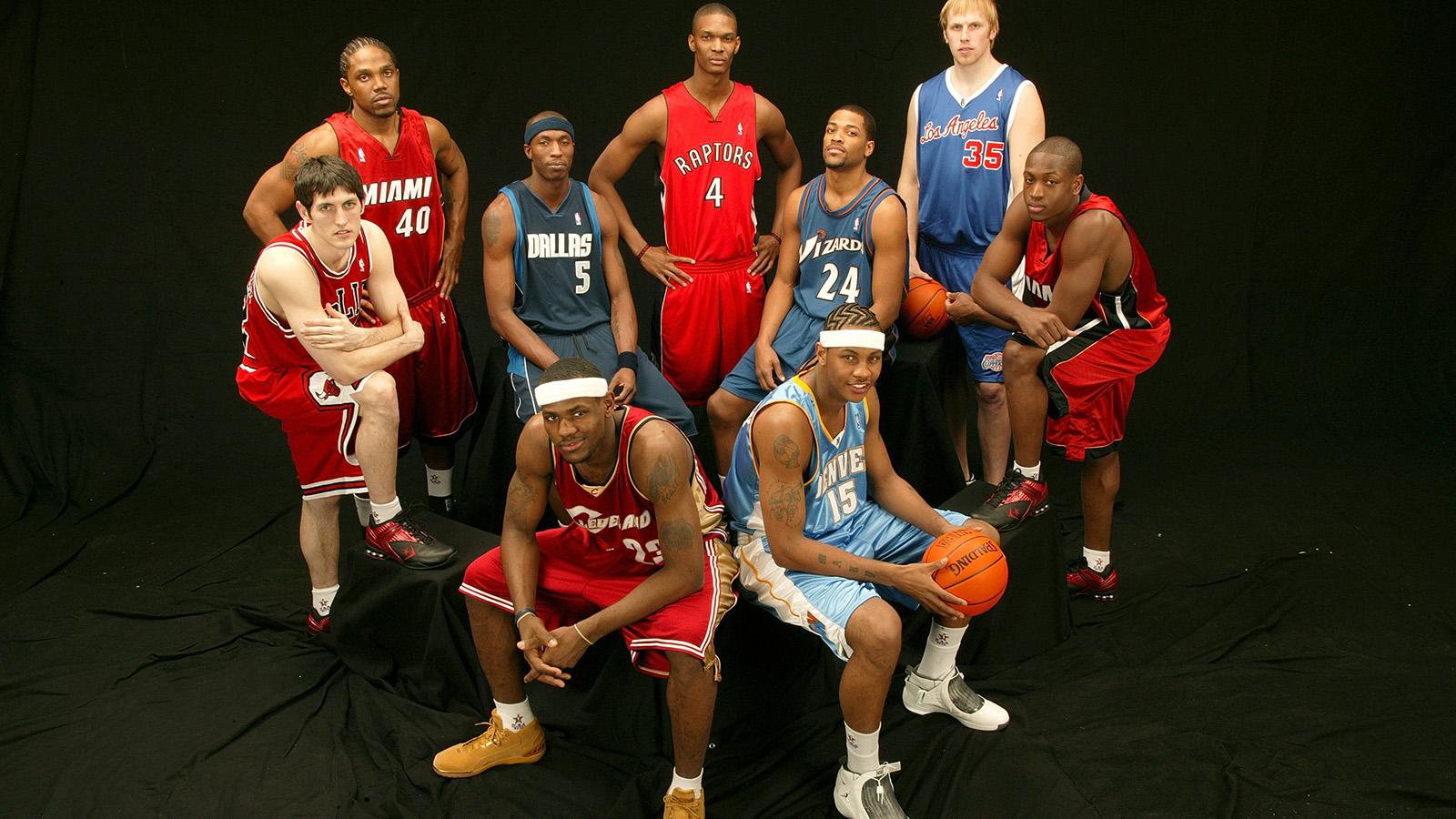 The 2003-04 NBA Rookies.