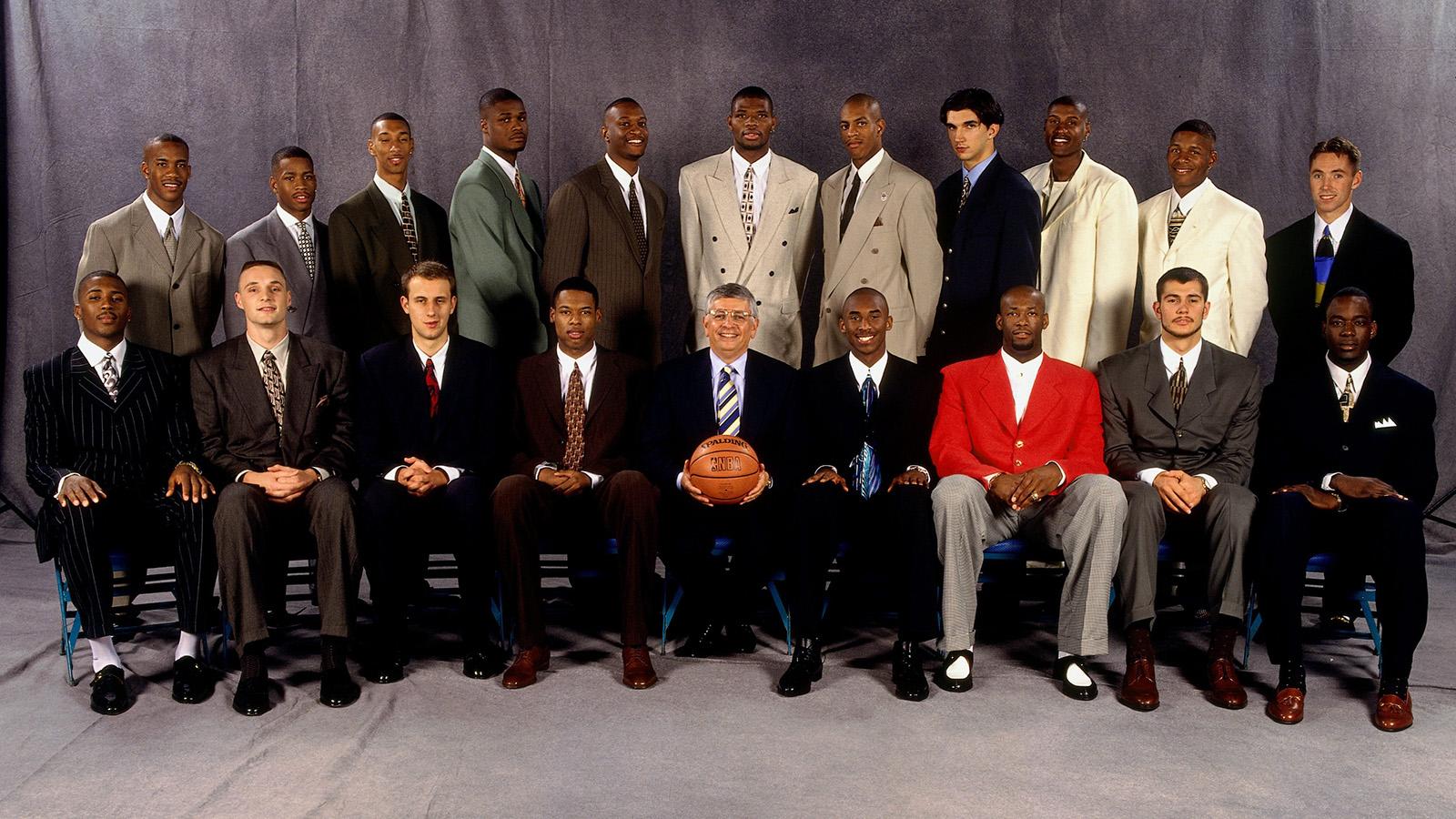 The 1996 NBA Draft Class.