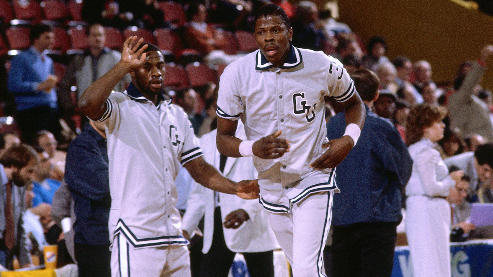 Patrick Ewing was the Number 1 pick out of Georgetown.