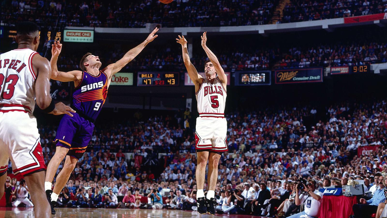 John Paxson in the 1993 NBA Finals