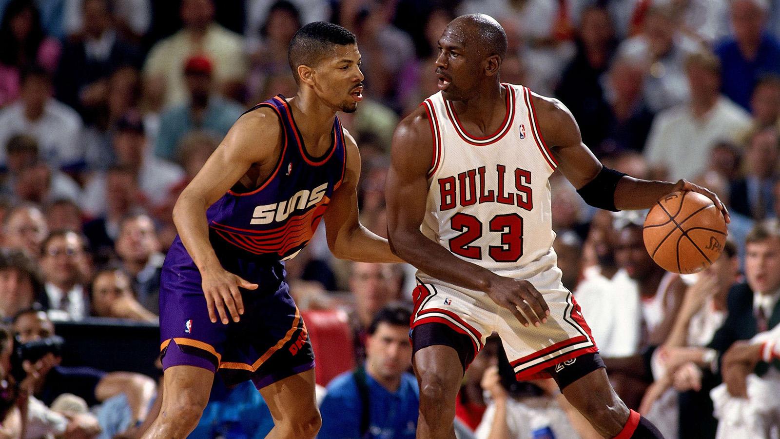Michael Jordan in the 1993 NBA Finals